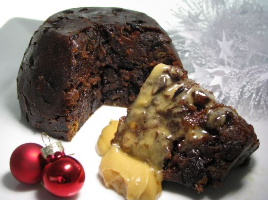 FCHT branded luxury Christmas Pudding